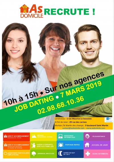 "L'association ""AS Domicile"" recrute par job dating"
